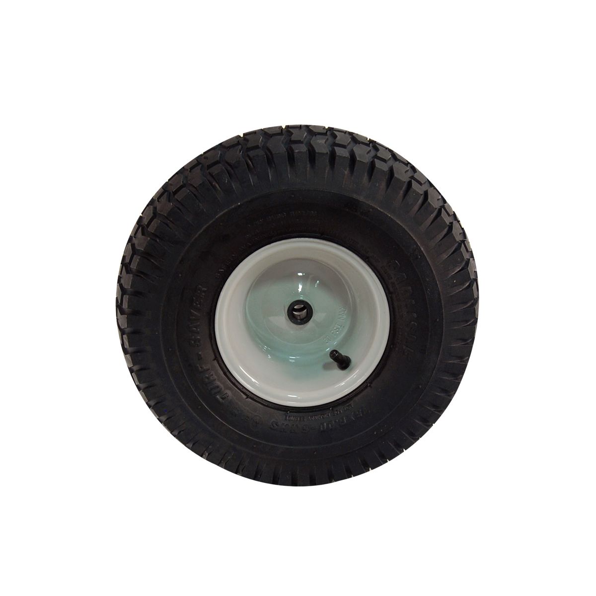 complete wheel assembly carlisle tire with gray rim 634-0105b-0911