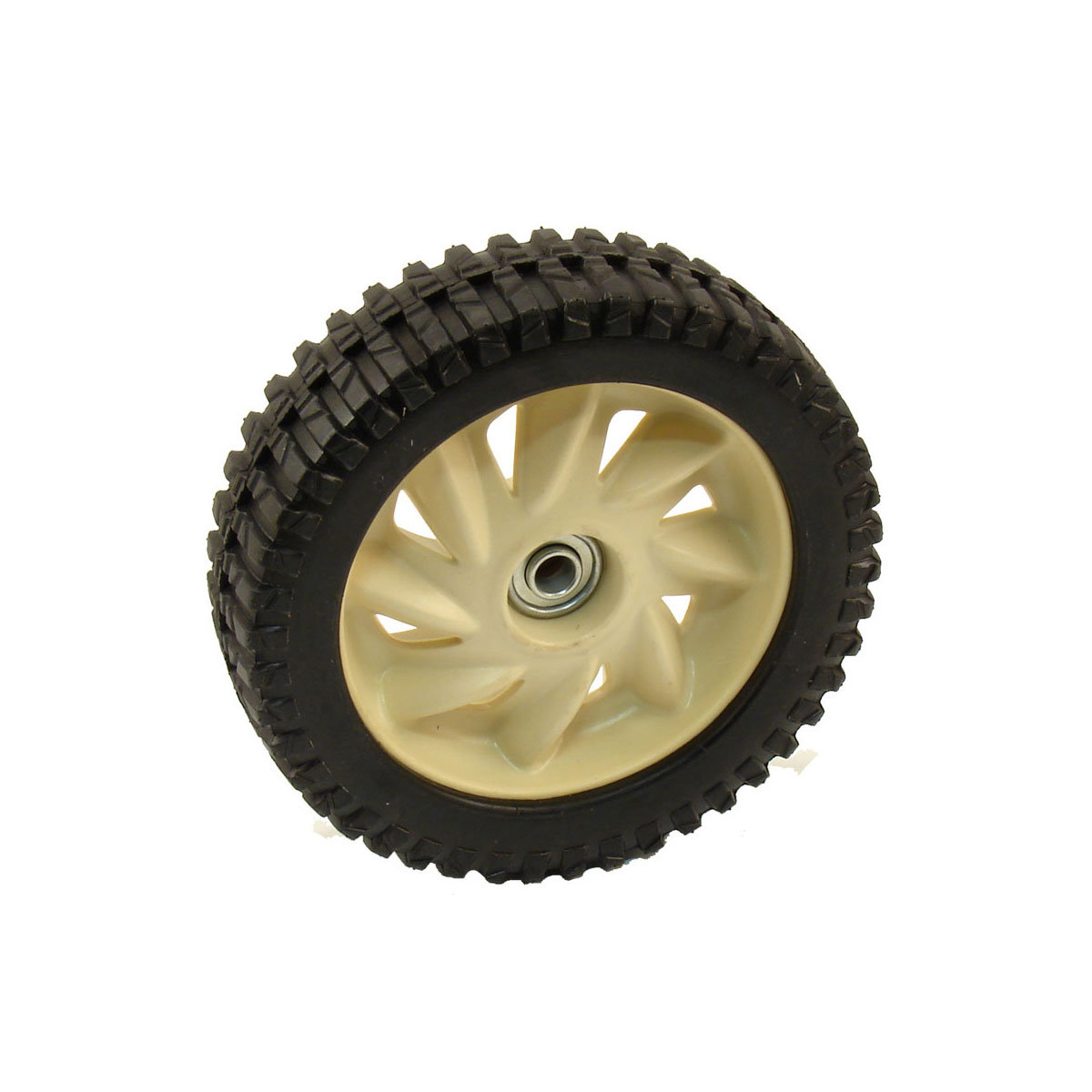 wheel assembly (8 x 2.125 beige) 634-04347