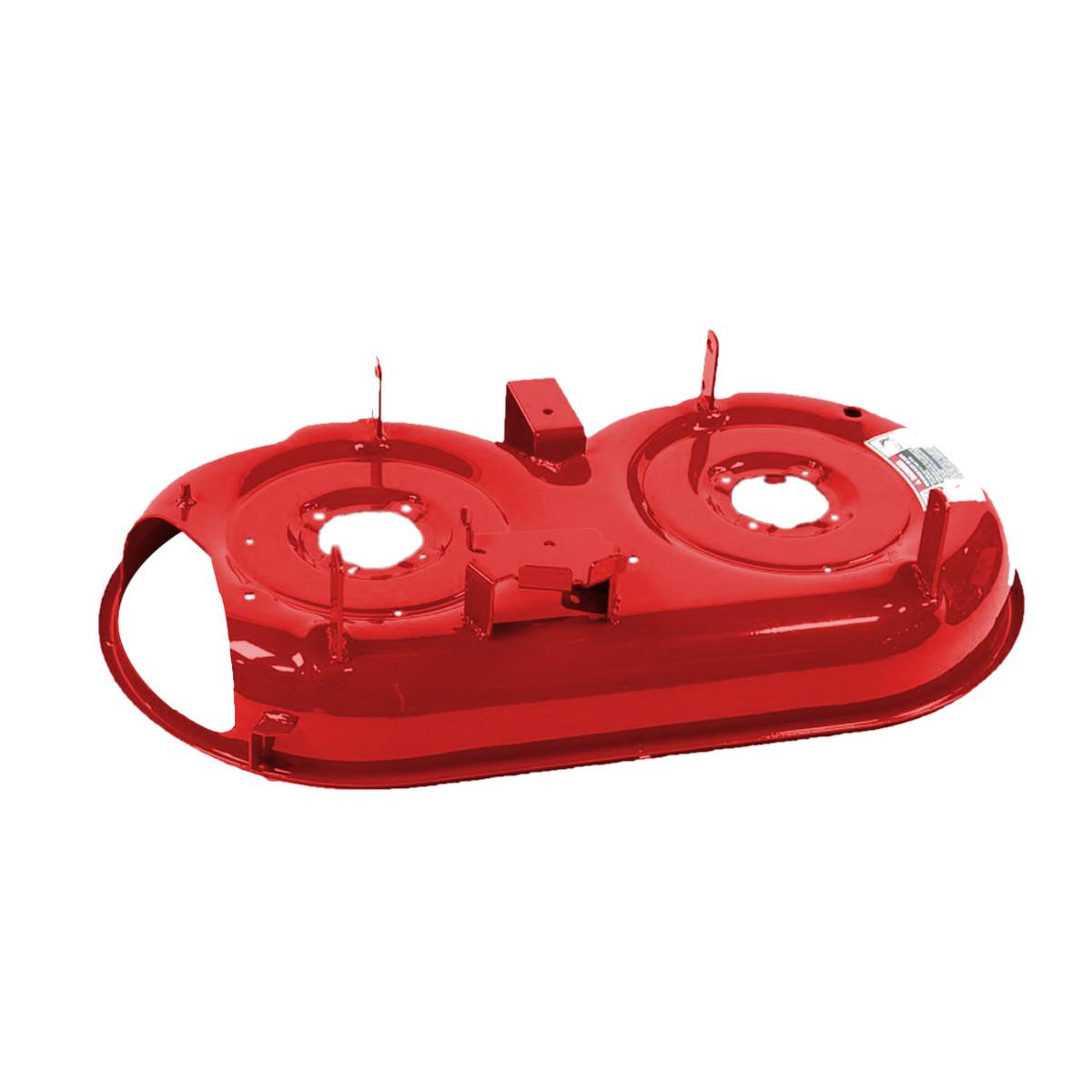 deck assembly (33 inch) fire red 687-02476-4015