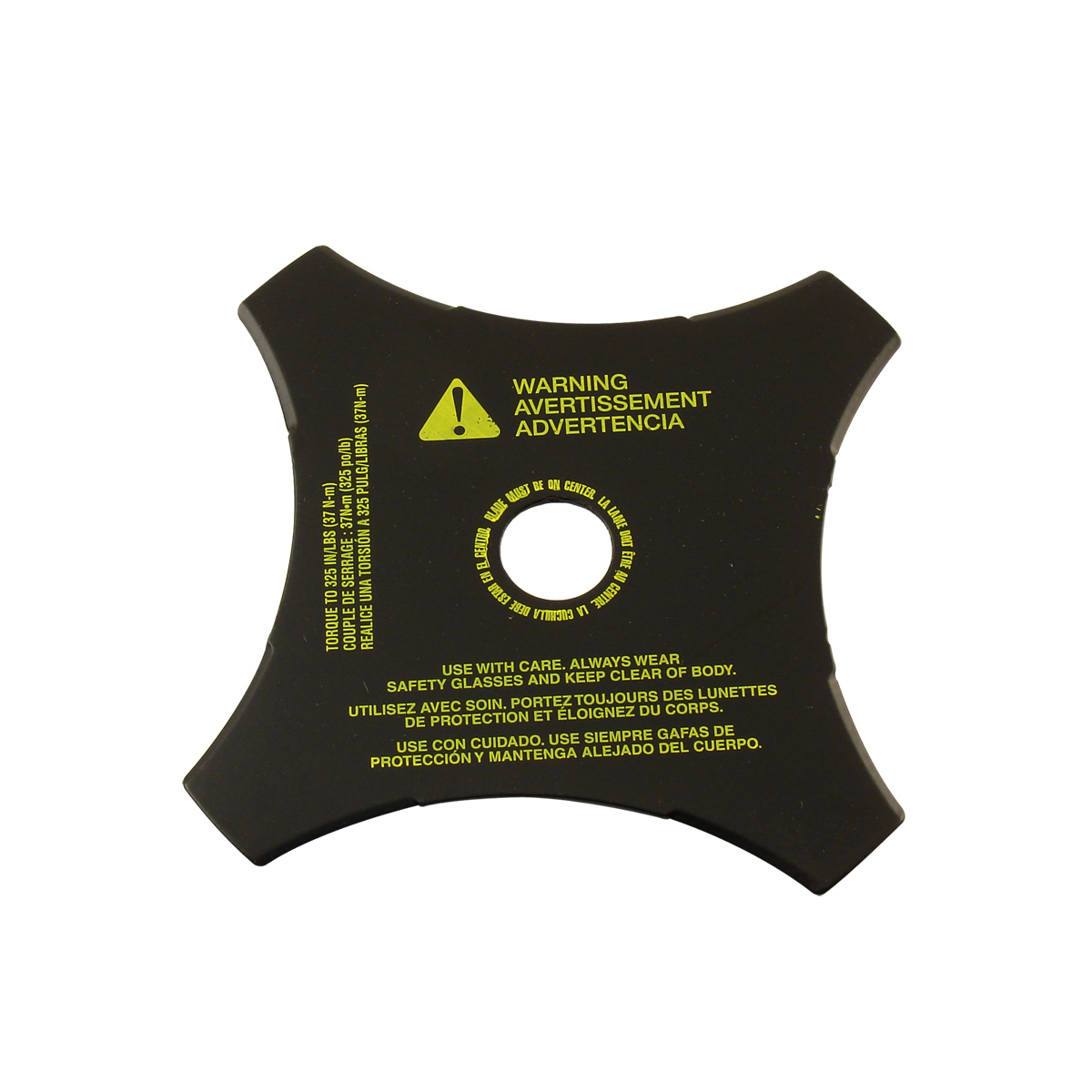 4-tooth blade for handheld brushcutters 791-145873b