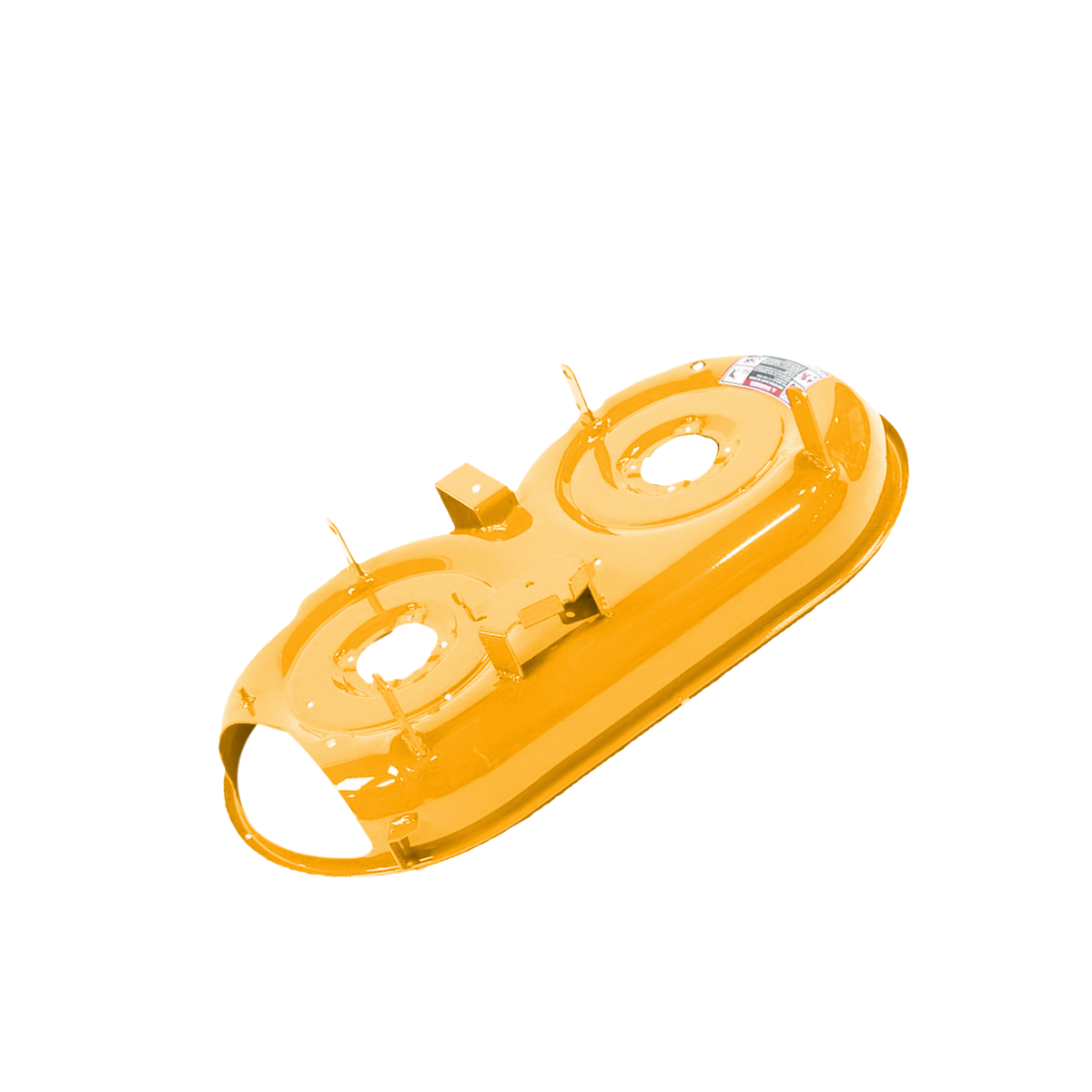 deck shell (33 inch) yellow-99 987-02254-0716