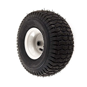 complete wheel assembly (15 x 6 x 6) carlisle tire with beige rim 634-04406-0931