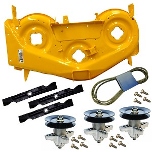 RZT 50 inch Yellow Deck Kit 903-04328C-0716 903-04328C-0716-KIT